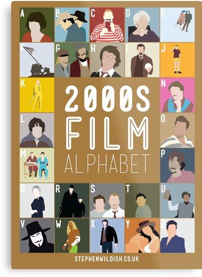 00s Film Alphabet by Stephen Wildish