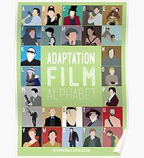 Adaptation Film Alphabet Poster