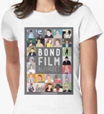 Bond Film Alphabet T-Shirt