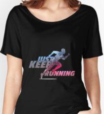 RUNNING SPORT BEST DESIGN 2017 Women's Relaxed Fit T-Shirt