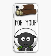 Wood for your Sheep - Funny Board Game Humor iPhone Case/Skin