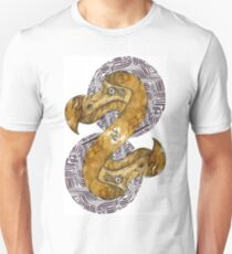 Double Dodo - coffee and ink - T-Shirt