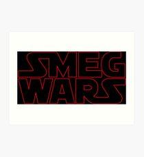 SMEG WARS Art Print