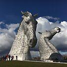 The Kelpies, Helix Park , Grangemouth by David Rankin