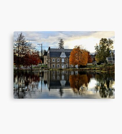 Reflecting On The Past Canvas Print