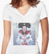 Bjork – Bachelorette – Benday Dots Women's Fitted V-Neck T-Shirt