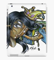 black queen  iPad Case/Skin