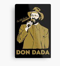 Super Cat Don Dada Metal Print