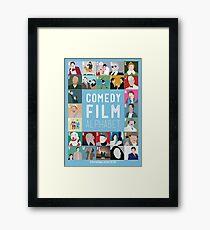 Comedy Film Alphabet Framed Print