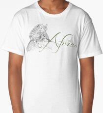 Africa Zebra Long T-Shirt