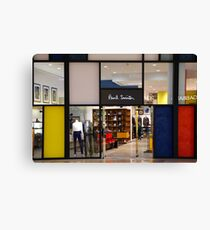 Paul Smith Vs. Piet Mondrian Canvas Print