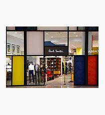 Paul Smith Vs. Piet Mondrian Photographic Print