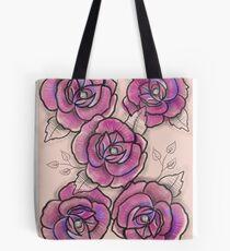 Grosses roses aquarelle, Stefy  Tote Bag