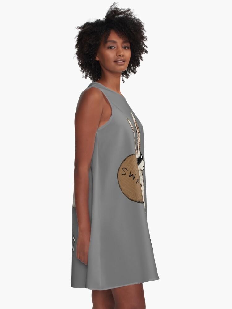 Alternate view of Robbit A-Line Dress