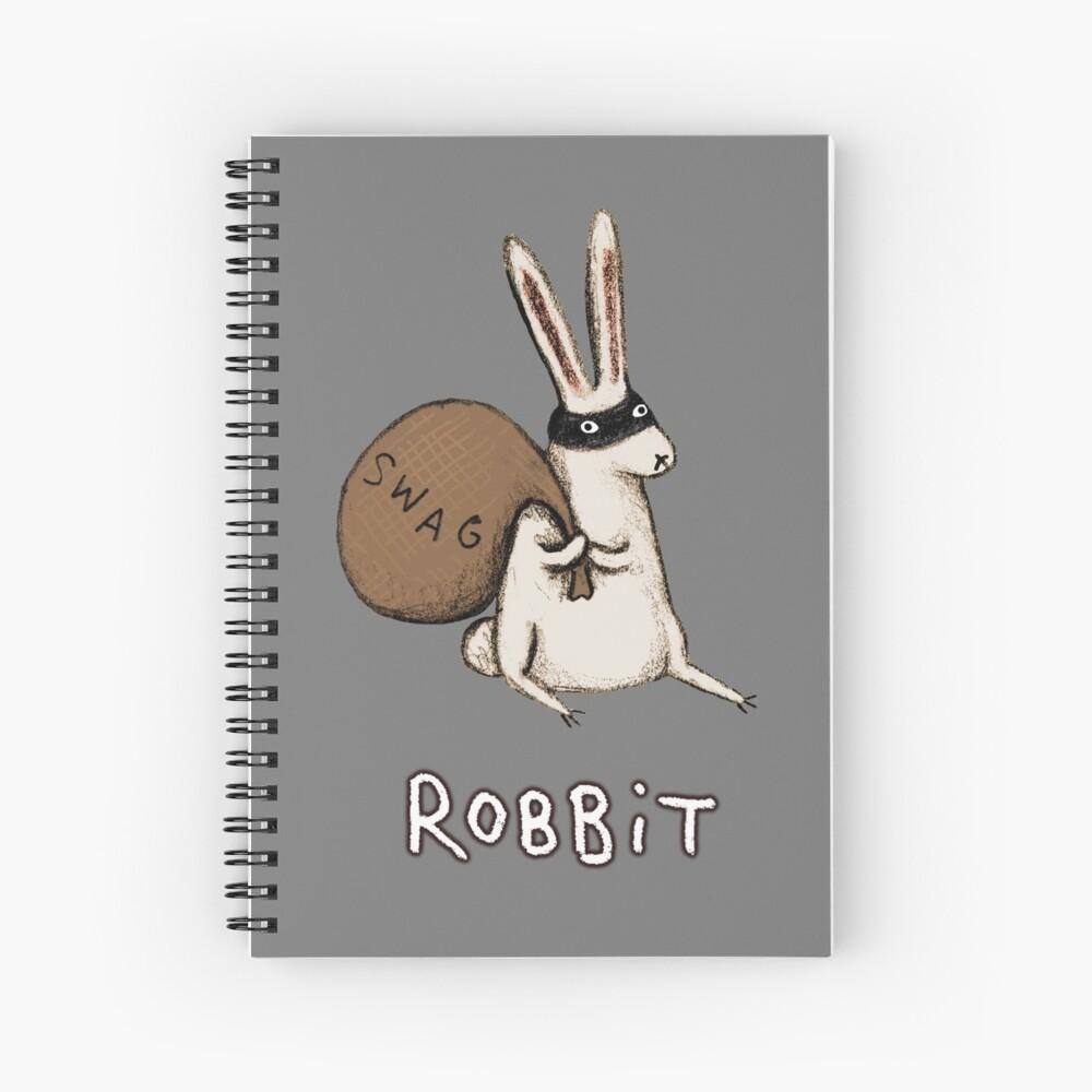 Robbit Spiral Notebook