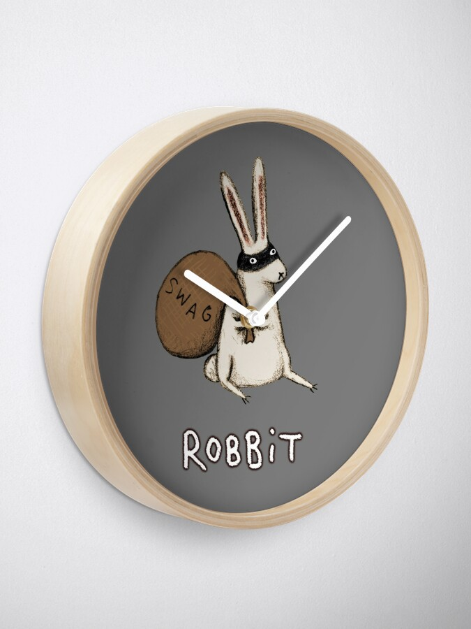 Alternate view of Robbit Clock