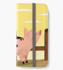 The Pig and The Rooster iPhone Wallet