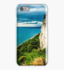 Storm is coming in the gulf of Trieste iPhone Case/Skin