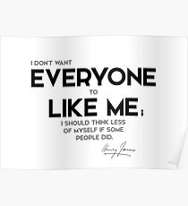 everyone like me - henry james Poster