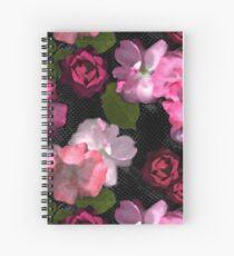 Romance Blooms Spiral Notebook