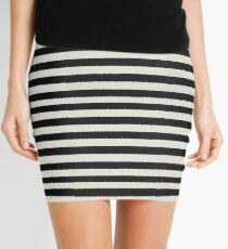 Striped Drive Mini Skirt