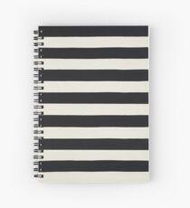 Striped Drive Spiral Notebook
