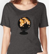 We burned it. Women's Relaxed Fit T-Shirt