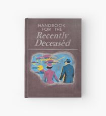 Beetlejuice - Handbook of the Recently Deceased Hardcover Journal