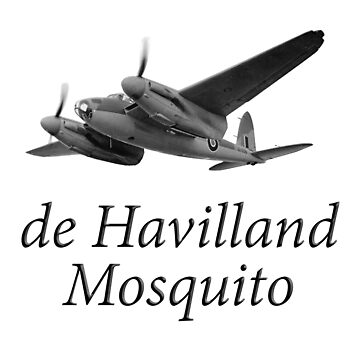 Mosquito, De Havilland, Wold War II, British, multi-role, combat, aircraft by TOMSREDBUBBLE