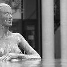 Bronze nude by Tony Hadfield