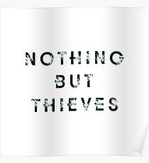 Nothing But Thieves - Band Logo (Alternative Design) Poster