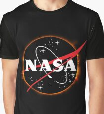 NASA Solar Eclipse Graphic T-Shirt