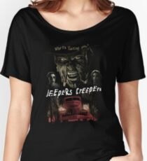 Jeepers Creepes (Only works with Black) Women's Relaxed Fit T-Shirt