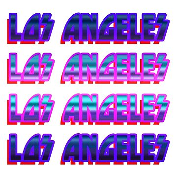 Los Angeles 70s Edition by morales138