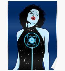 Blue Velvet - Isabella Poster