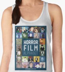 Horror Film Alphabet Women's Tank Top