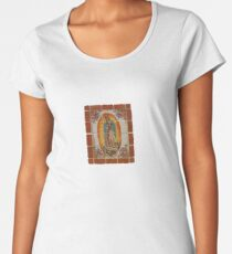 Lady of Guadalupe Women's Premium T-Shirt