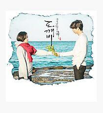 Ji Eun-tak and Kim Shin - Goblin / Guardian / Dokkaebi Photographic Print