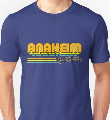 Anaheim, CA   City Stripes T-Shirt
