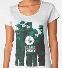 Public Enemy #1 Women's Premium T-Shirt