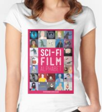 The Sci-fi Film Alphabet Women's Fitted Scoop T-Shirt