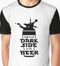 Dark Side of Beer Graphic T-Shirt