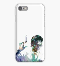 Reanimator | Herbert West | Jeffery Combs | Galaxy Horror Icons iPhone Case/Skin