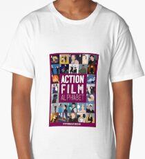 Action Film Alphabet Long T-Shirt