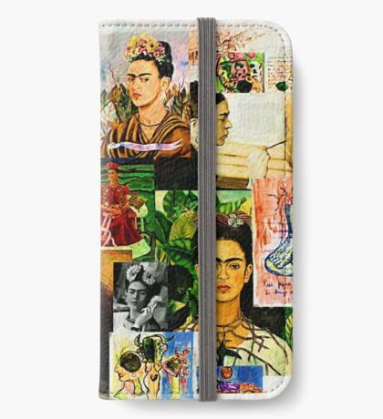Obsessed with Frida Kahlo iPhone Wallet