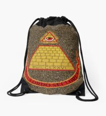 Desperately Seeking Susan Drawstring Bag