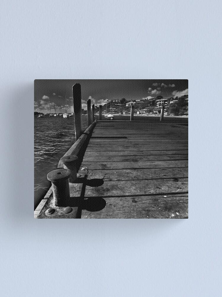 Alternate view of Becalmed Canvas Print