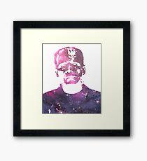 Frankenstein | Boris Karloff | Galaxy Horror Icons Framed Print
