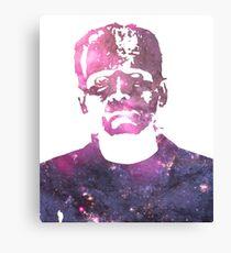 Frankenstein | Boris Karloff | Galaxy Horror Icons Canvas Print