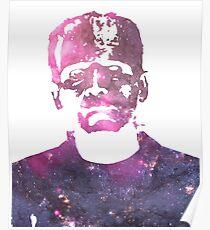 Frankenstein | Boris Karloff | Galaxy Horror Icons Poster